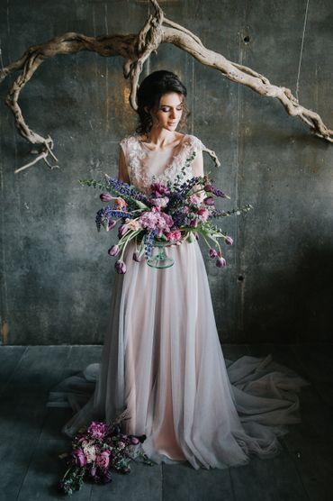 Pink overseas long wedding dresses
