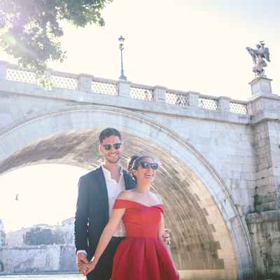 Red short wedding dresses