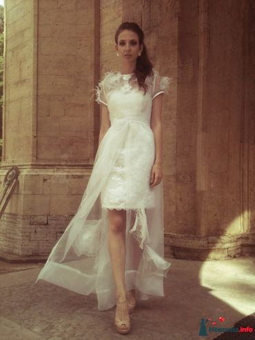 Closed wedding dresses