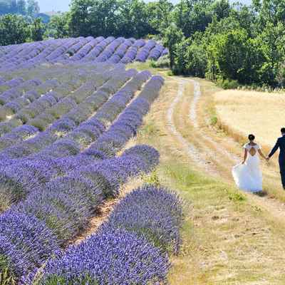 French summer real weddings