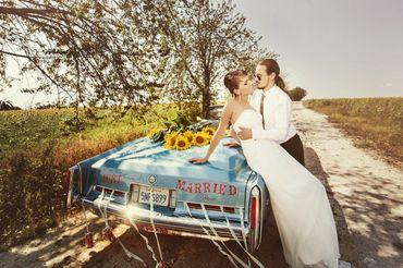 Overseas summer real weddings