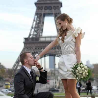 Overseas bridal style